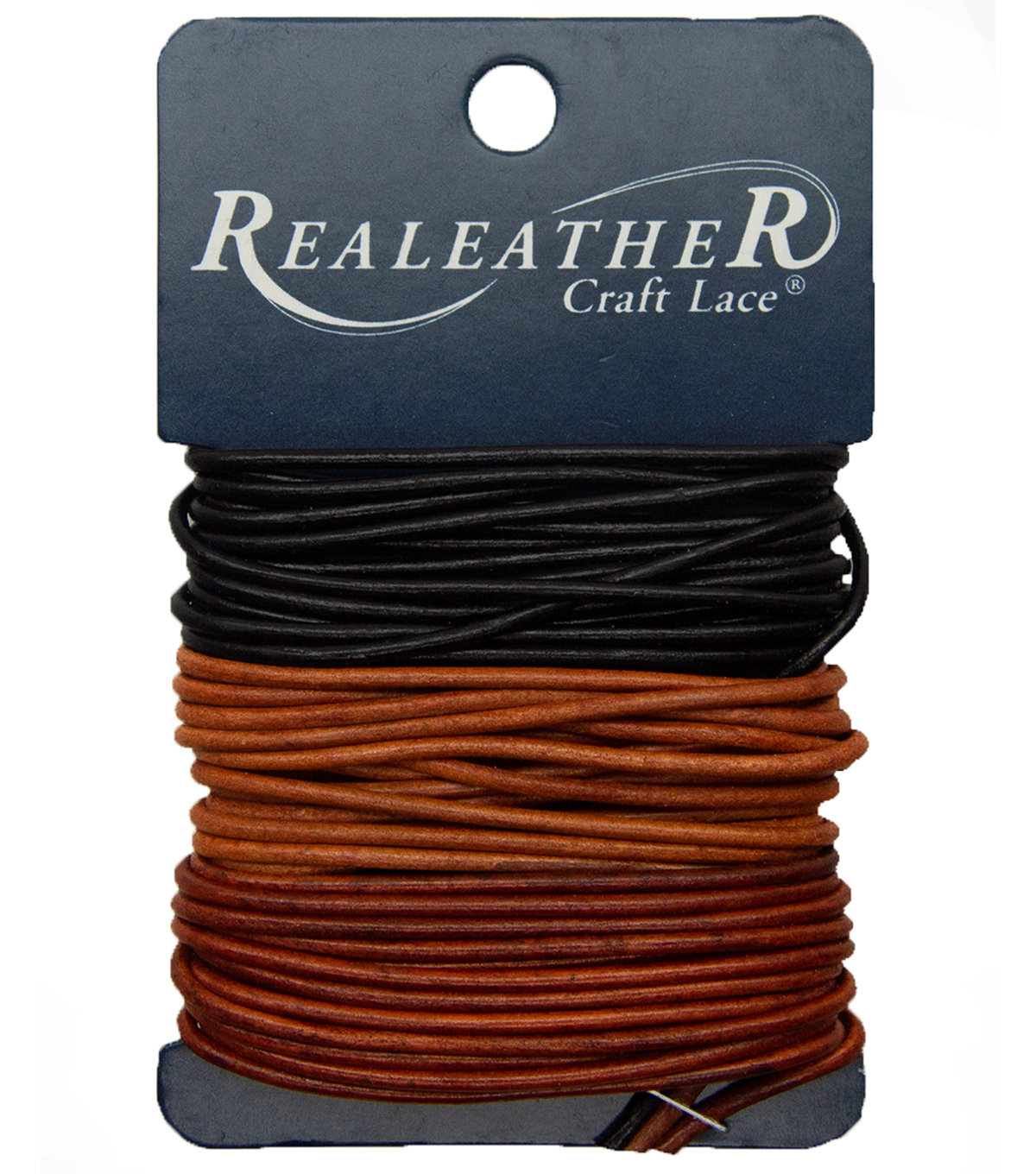Jewelry Fundamentals Cords & More-Round Leather Cord Value Pack, Basic