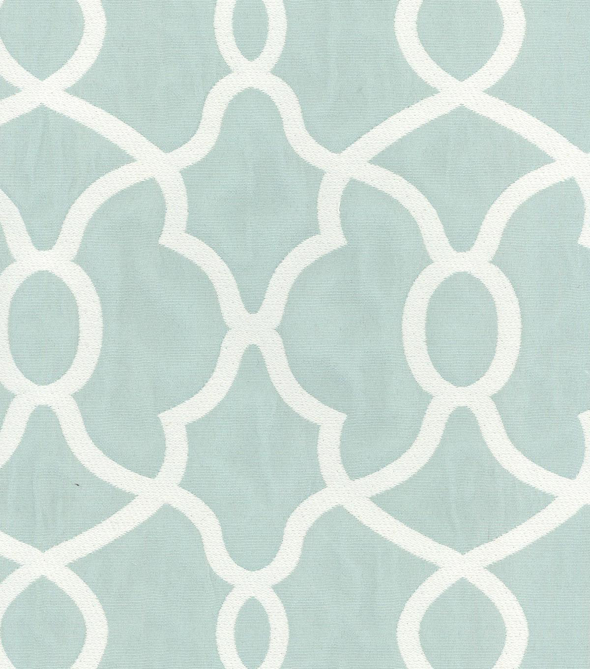 Kelly Ripa Upholstery Fabric 56\u0022-Clearly Cool Spa