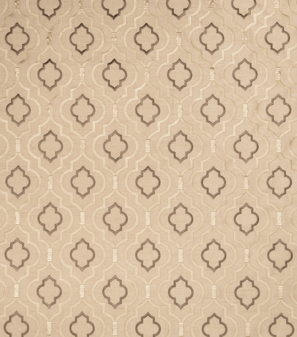 "Home Decor 8""x8"" Fabric Swatch-SMC Designs Acoustice / Taupe"