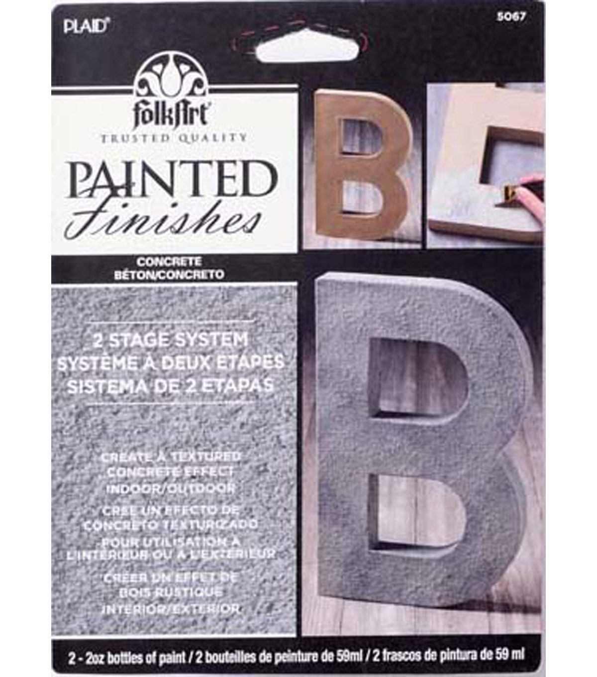 FolkArt Painted Finishes Kit-Concrete