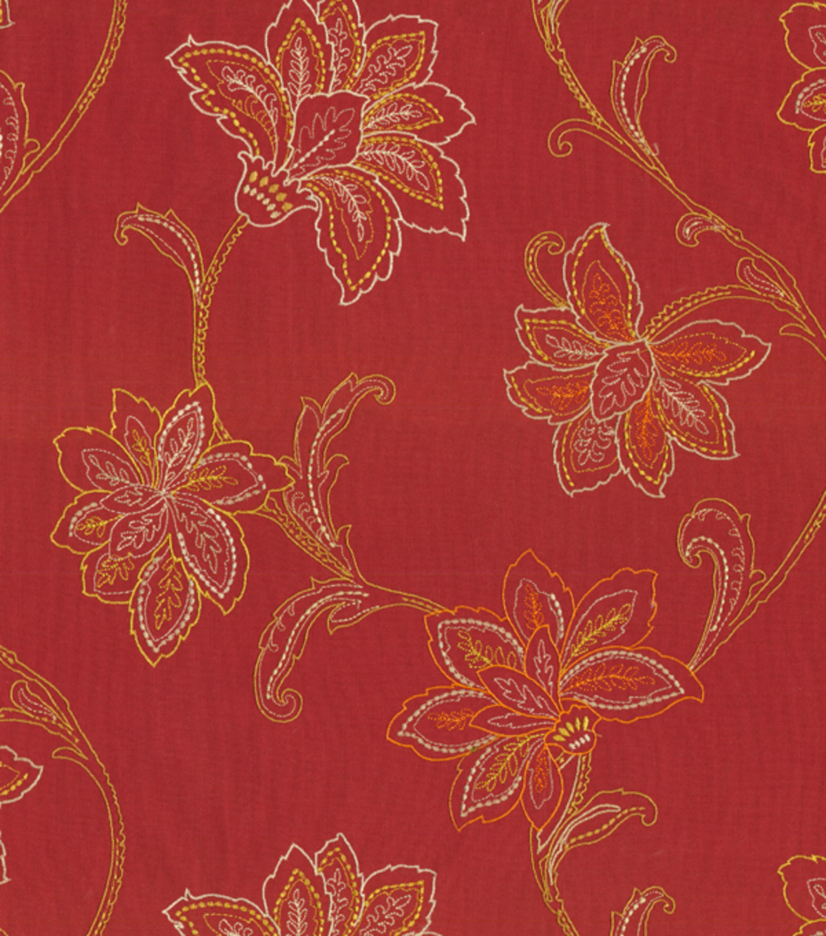 Waverly Upholstery Fabric-Mystical Embroidery/Fiesta