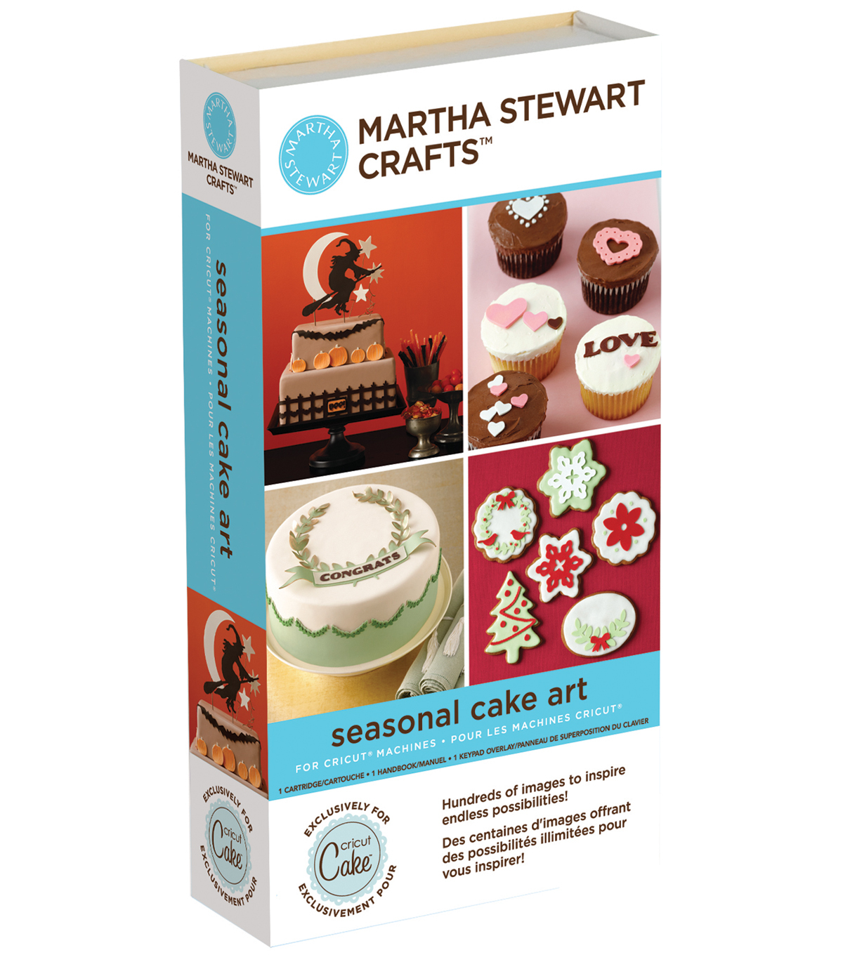 Cricut Martha Stewart Crafts Shape Cartridge-Seasonal Cakes