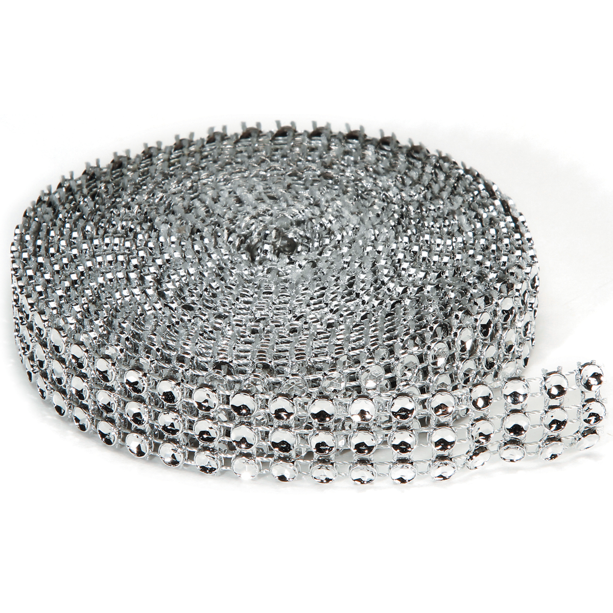 Darice Bling On A Roll Silver 4mm x 3 yards