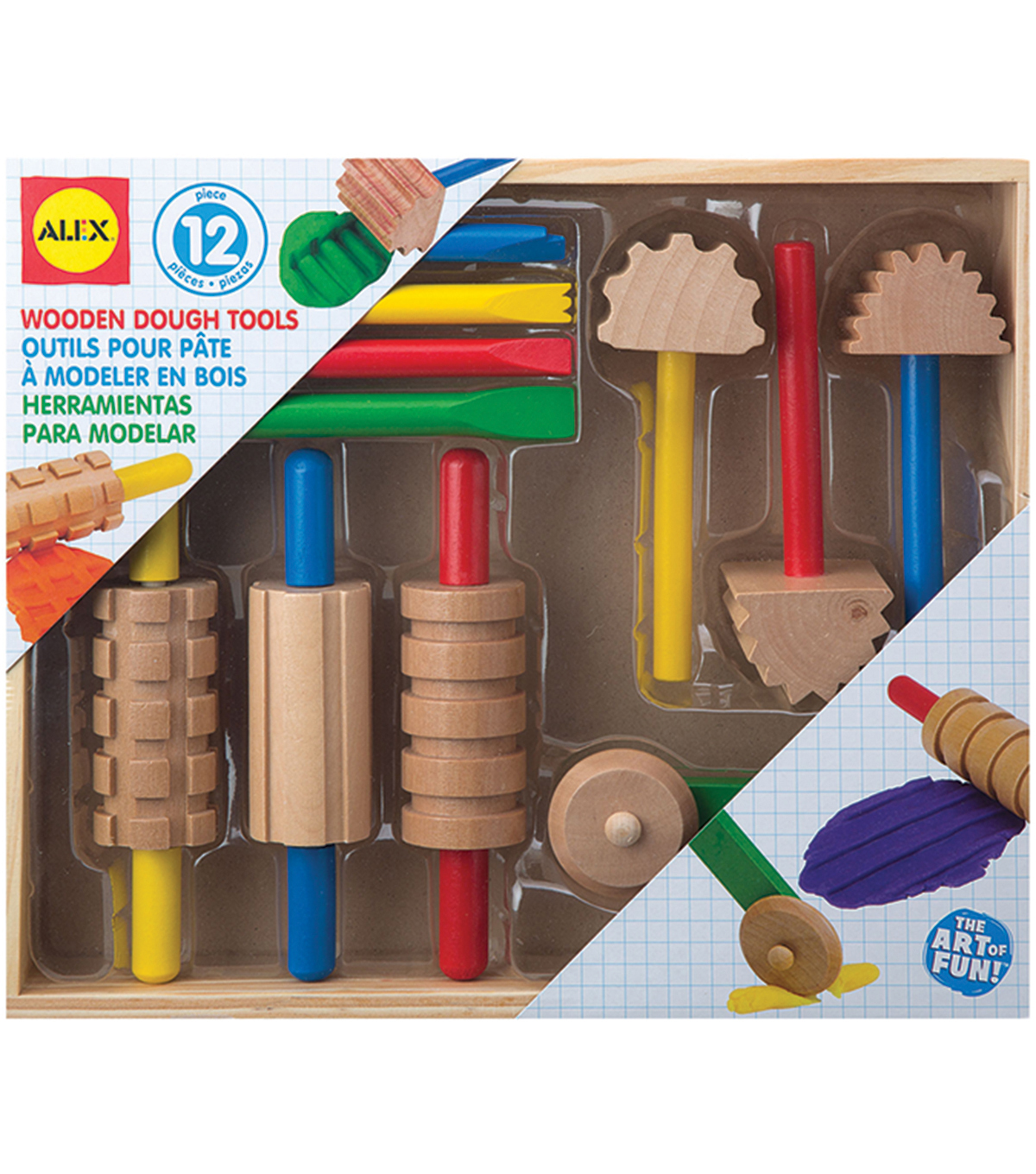 Alex Toys Wooden Dough Tool Set