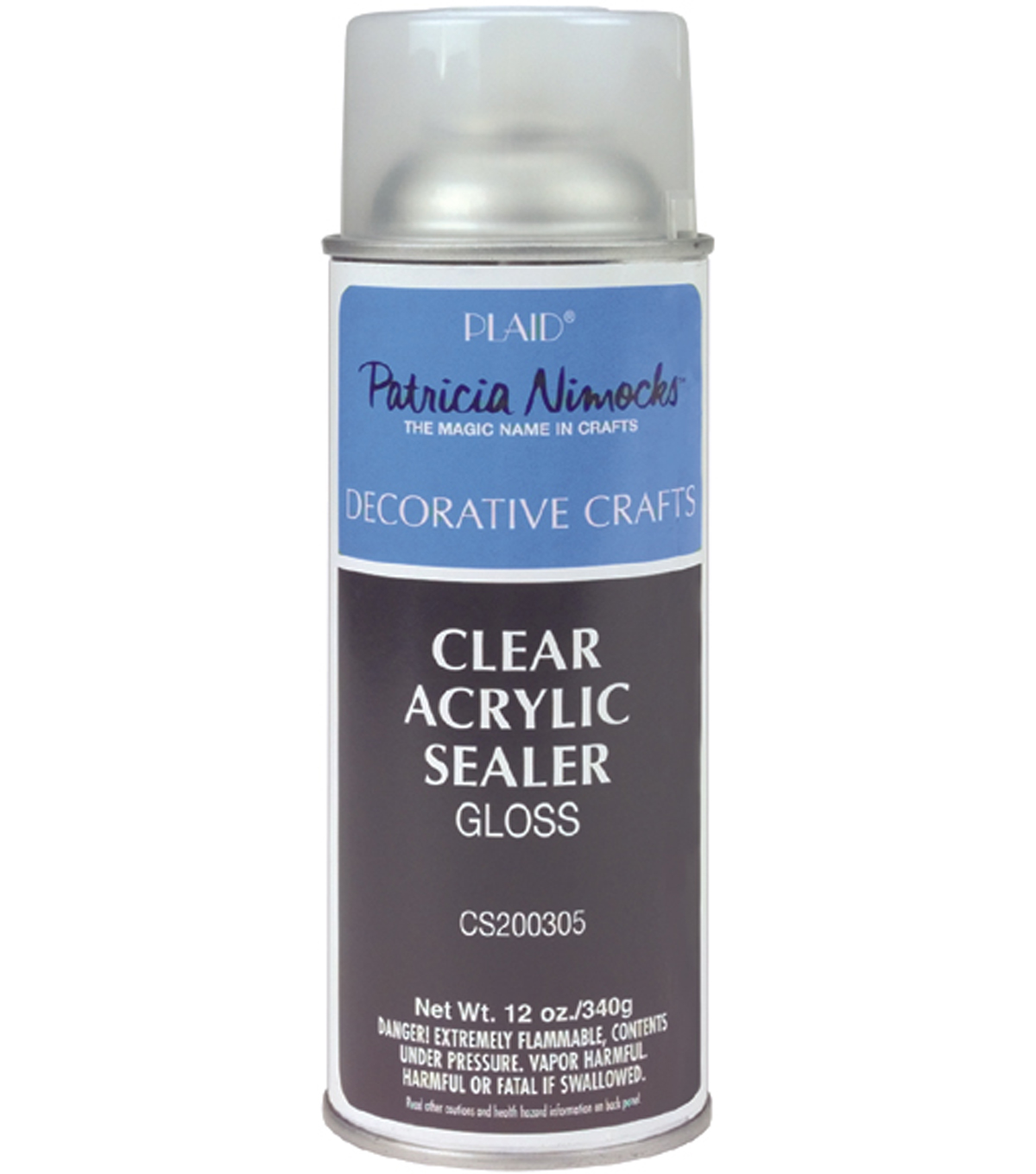 Plaid Clear Acrylic Sealer-Gloss/Matte 12 oz