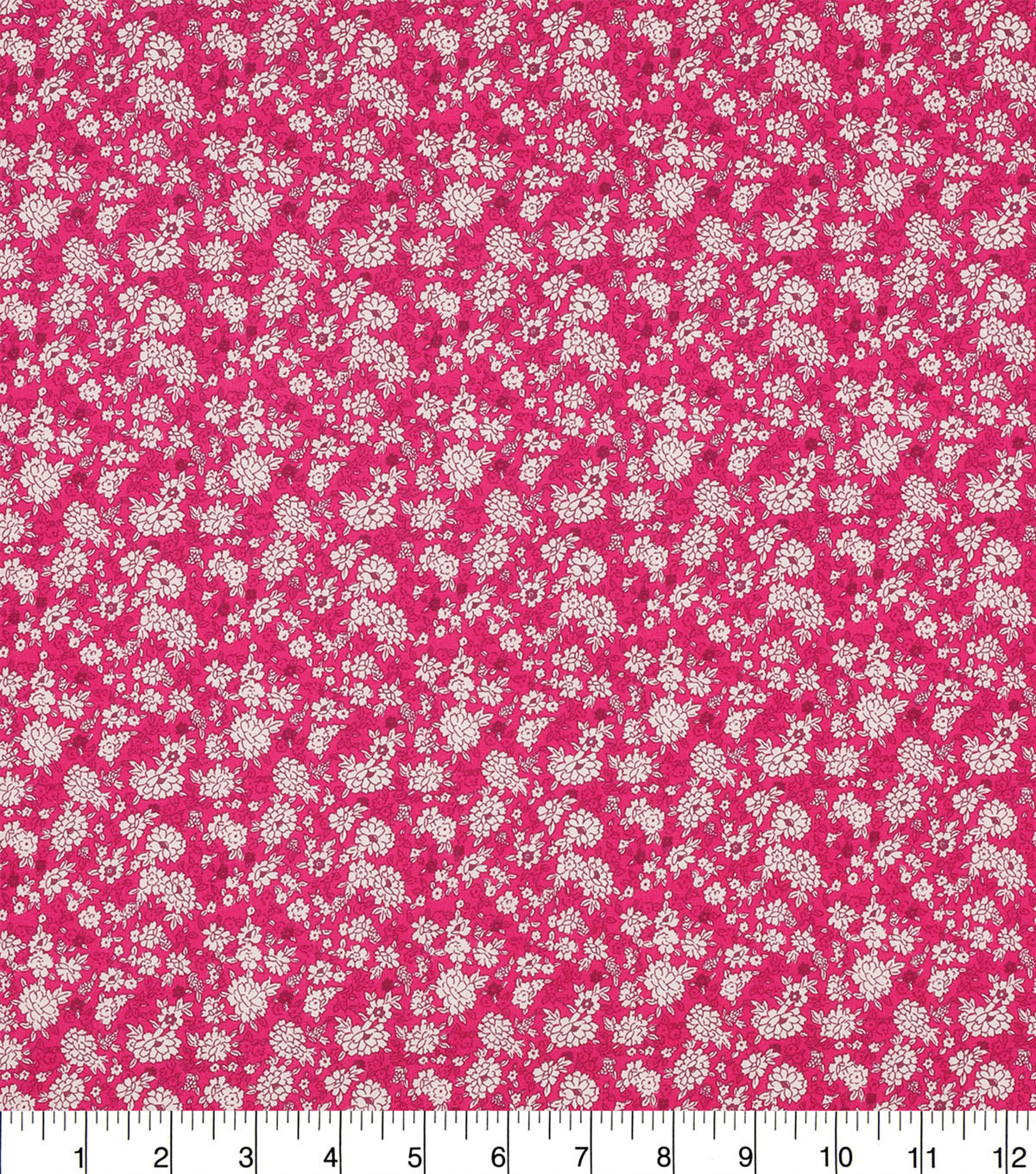 Keepsake Calico™ Cotton Fabric 43\u0022-Raspberry Packed Ditsy Floral