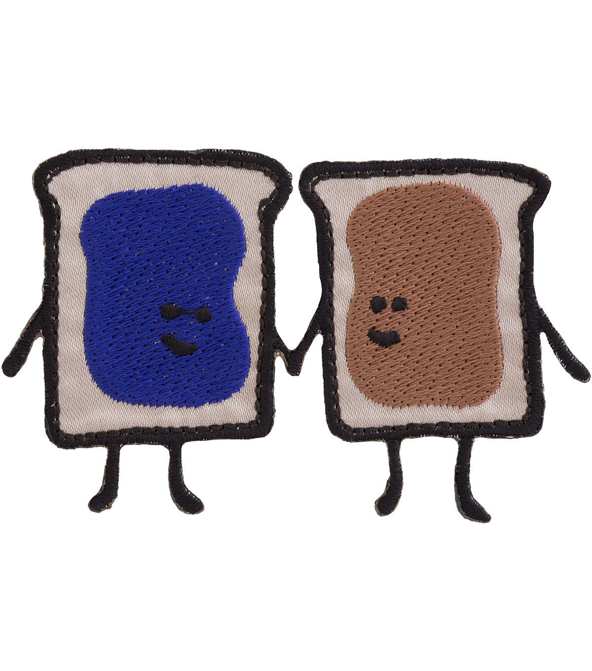 Simplicity® Applique-Breads Holding Hands with Butter & Jelly