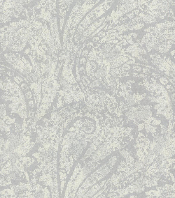 Waverly Upholstery Fabric 55\u0022-Burnished Scroll/Platinum