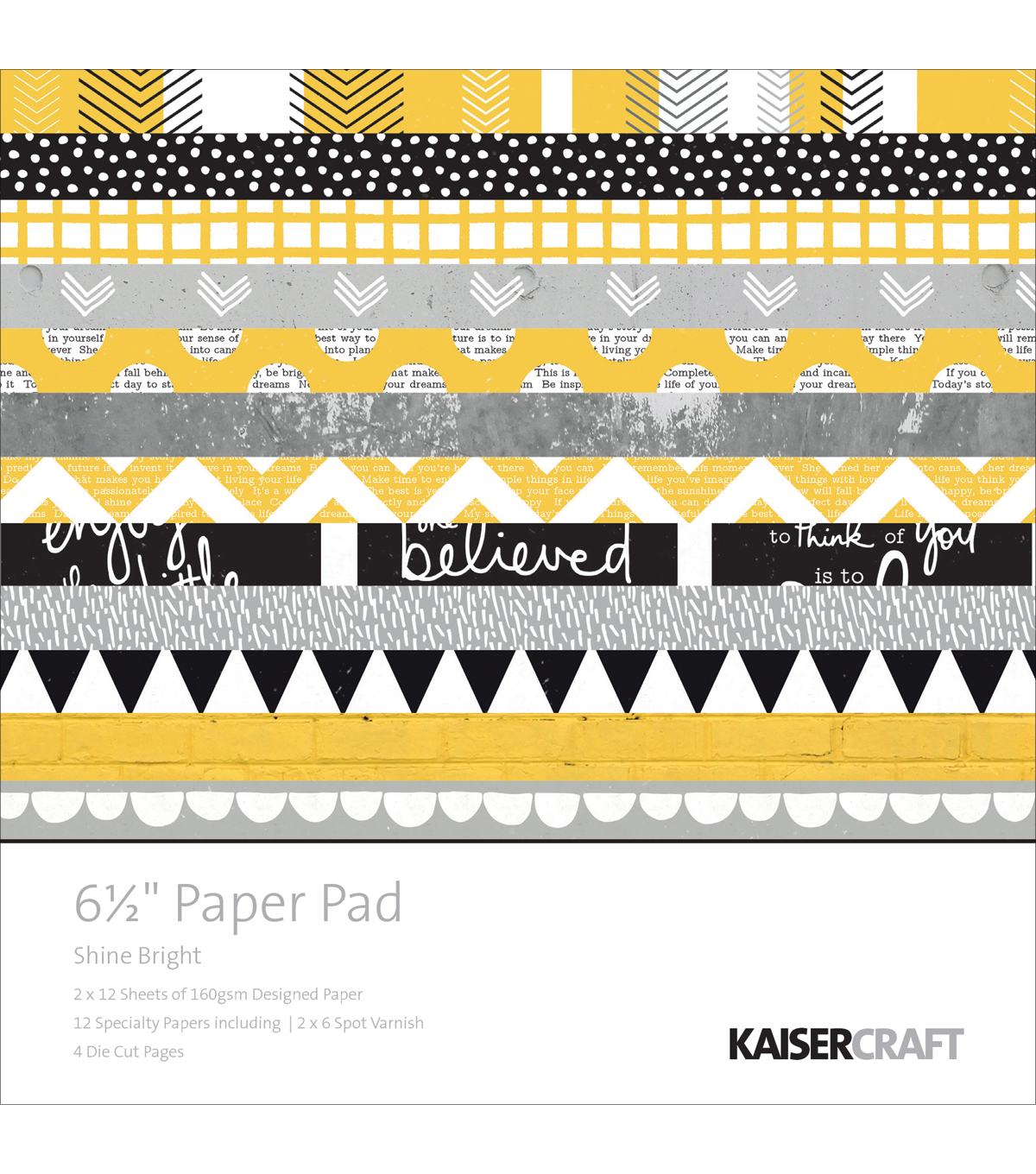 Kaisercraft Shine Bright Paper Pad