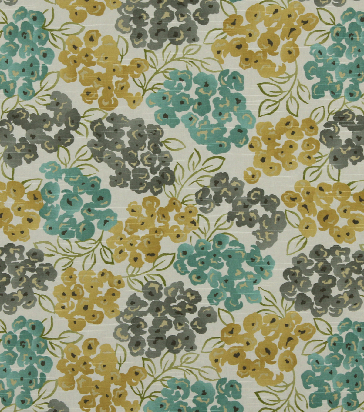"Home Decor 8""x8"" Fabric Swatch-Robert Allen Luxury Floral Pool"