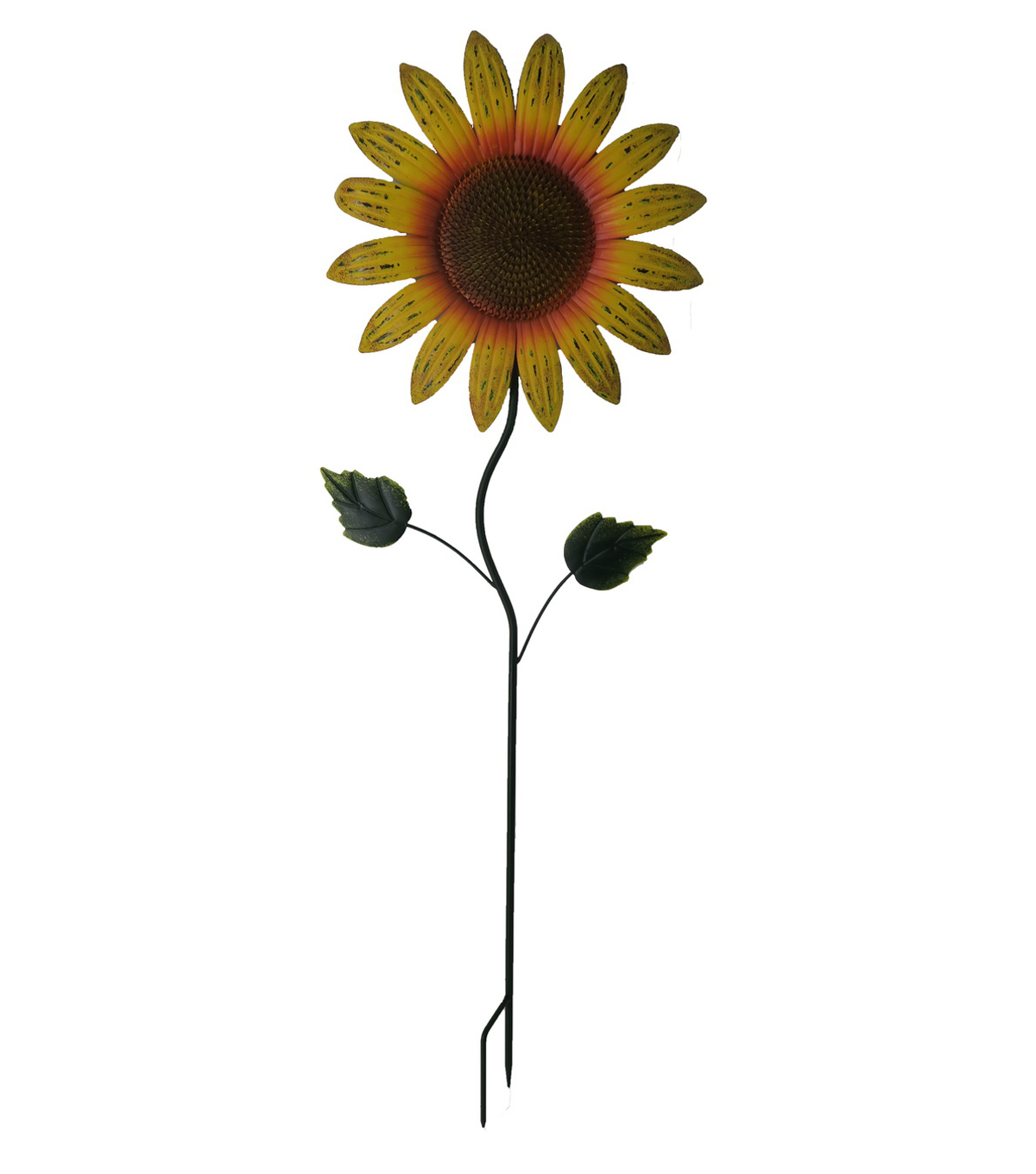 Fall Into Color Thanksgiving Tall Sunflower Yard Stake