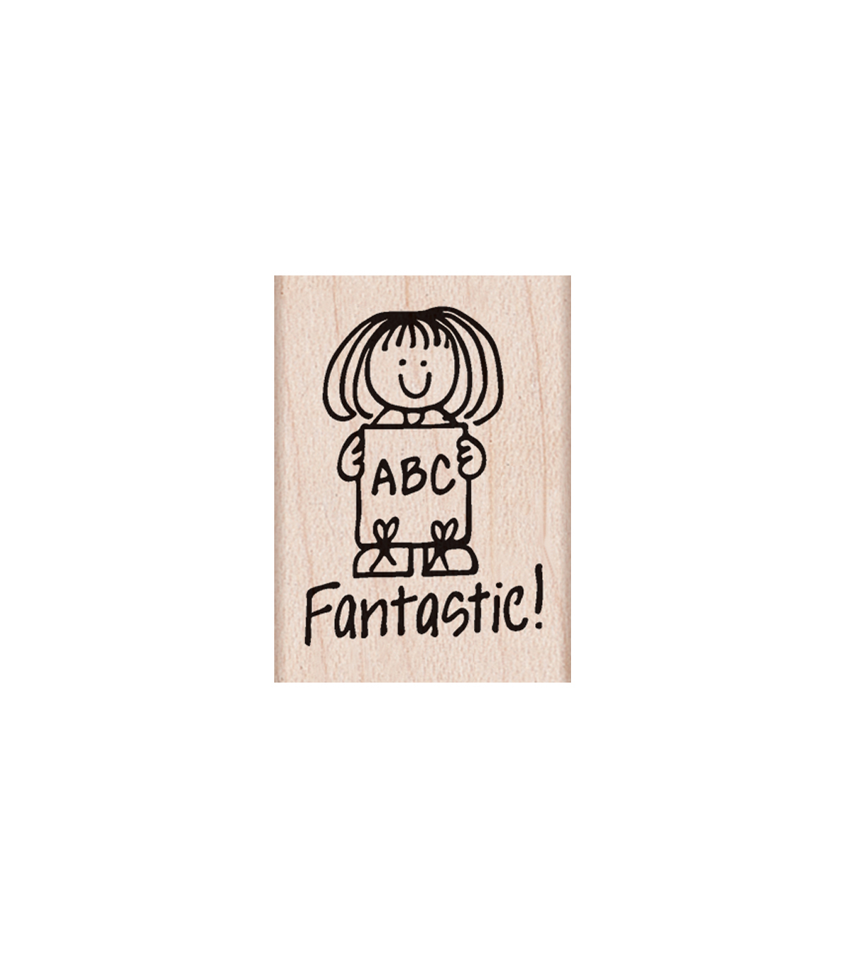 Hero Arts® Wood Mounted Rubber Stamp-Fantastic