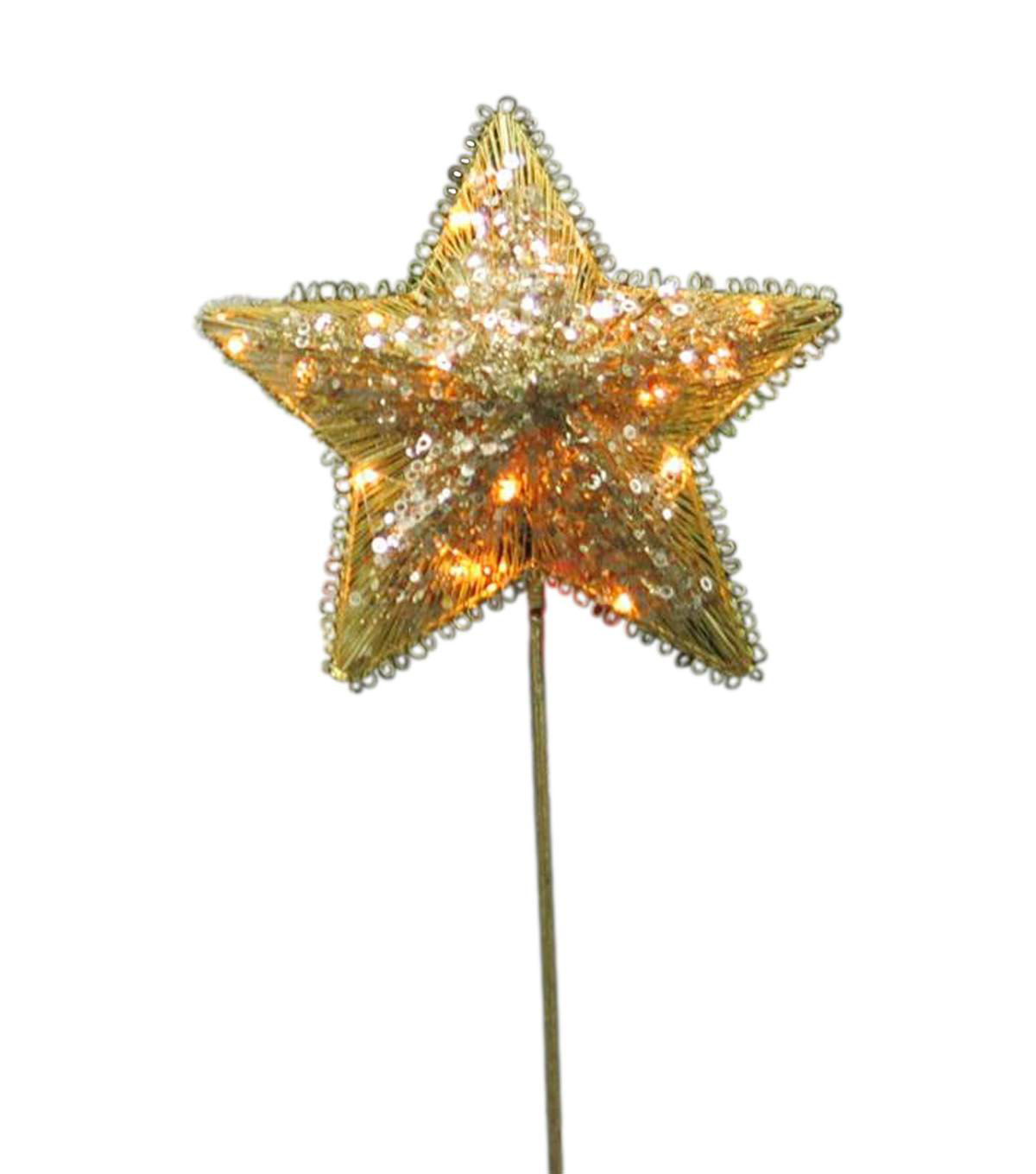 Maker\u0027s Holiday 2ct Stars with Stakes-Gold