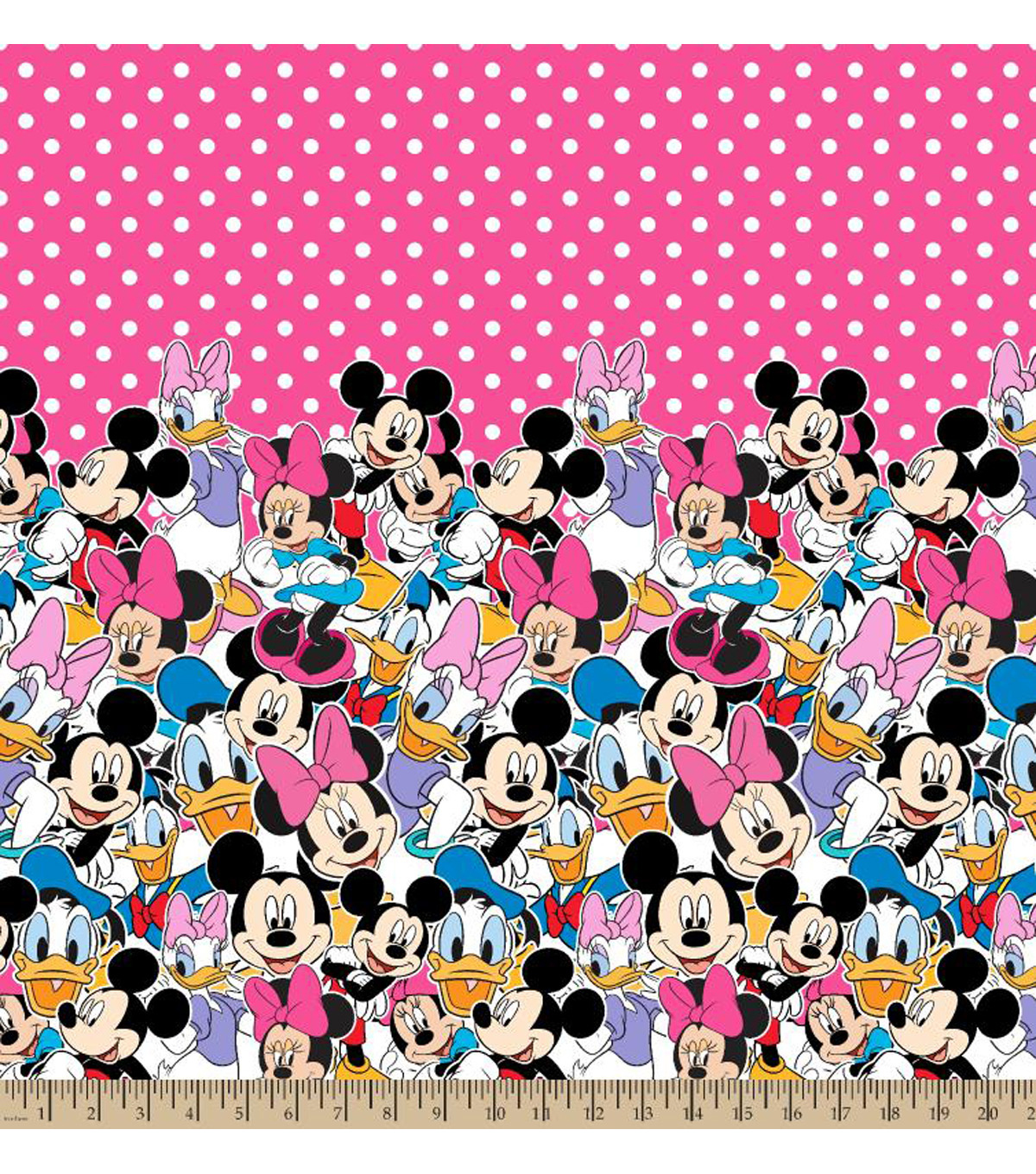 Disney® Minnie Mouse Minnie And Friends Mock Smock Fabric