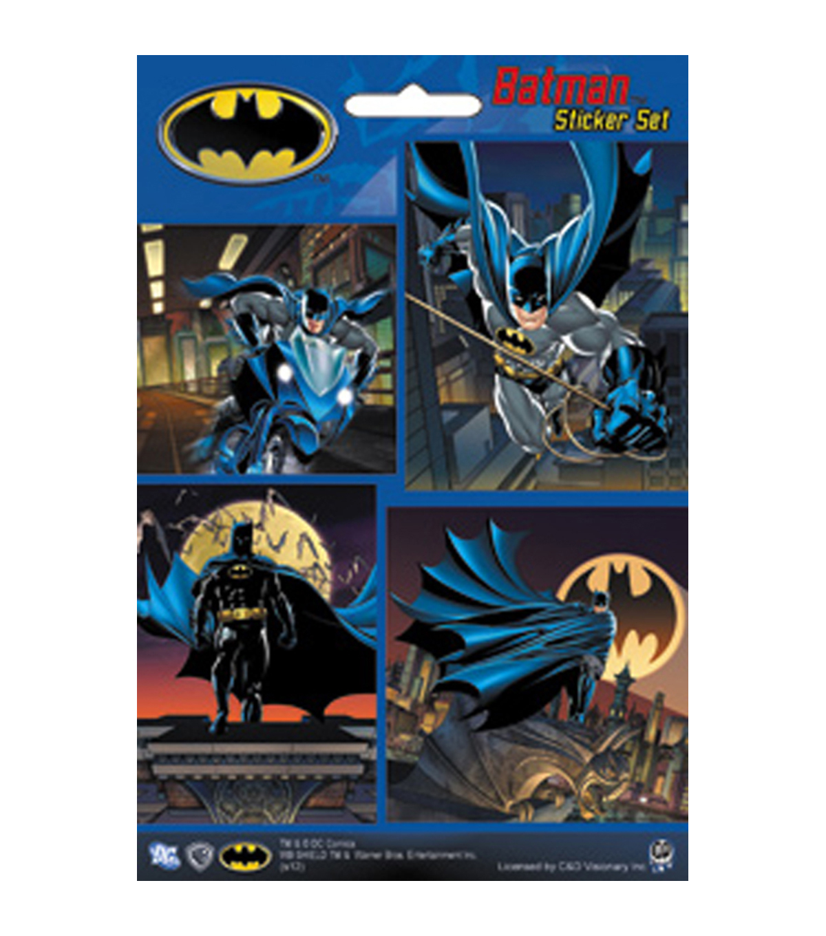 Mini Sticker Set-Batman