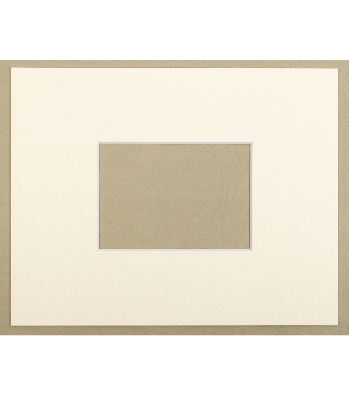 Photo Mat 11X14-Cream