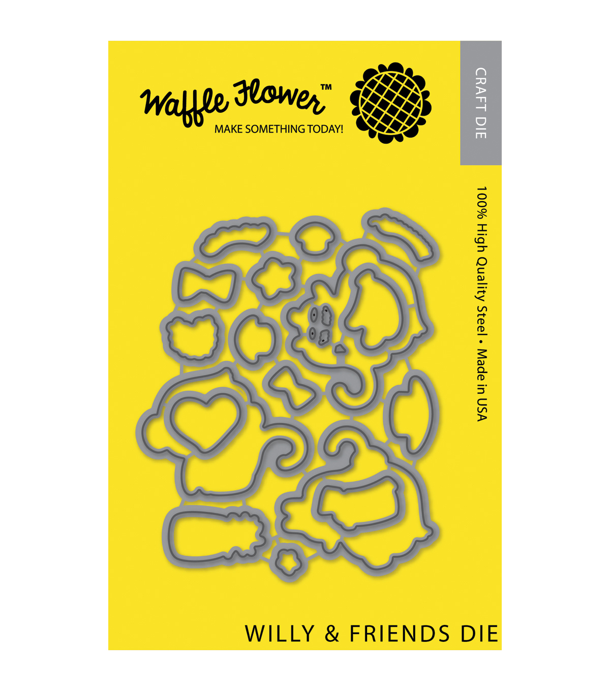 Waffle Flower Crafts Die-Willy & Friends
