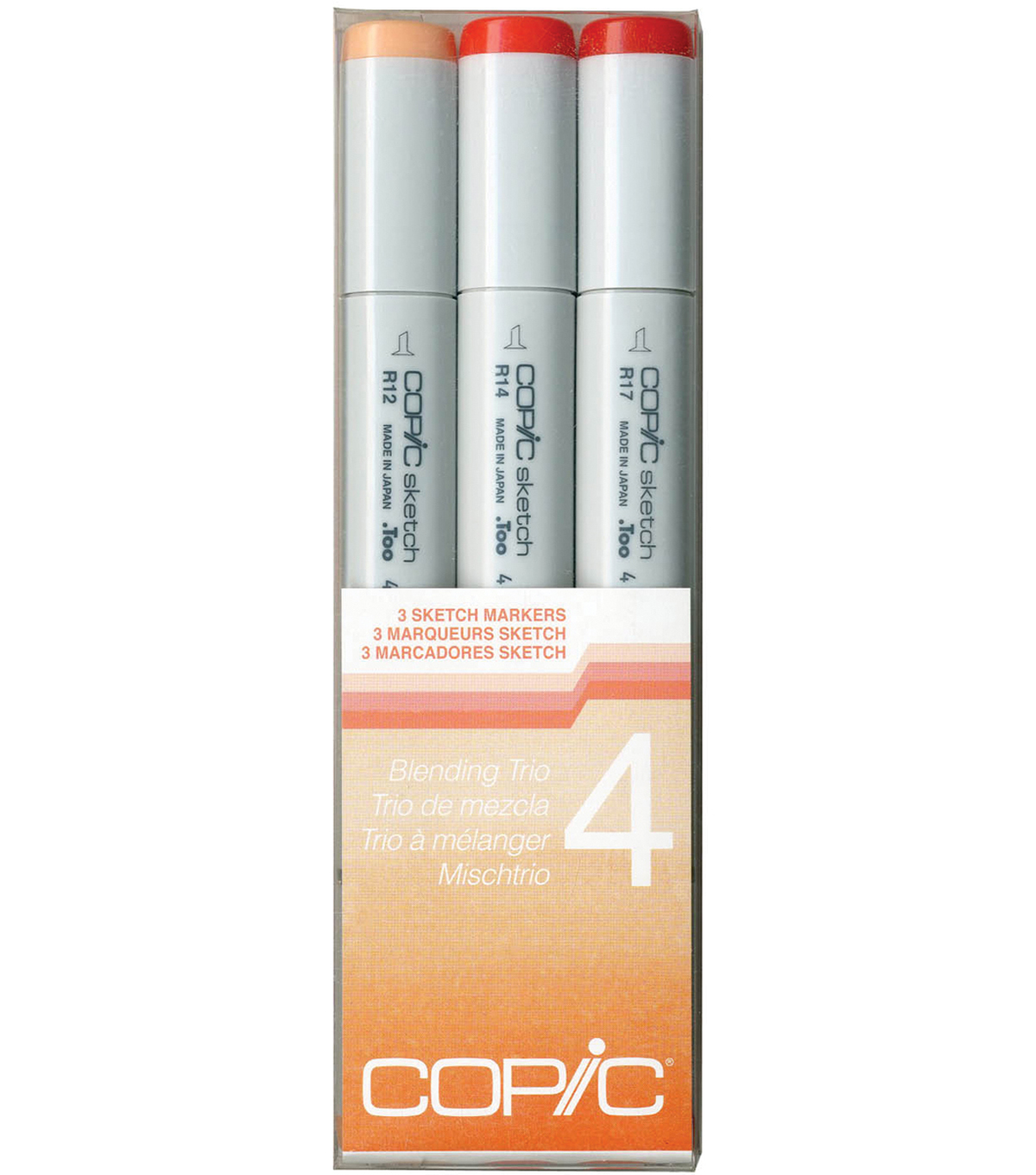 Copic Sketch Blending Trio Markers-Set 4