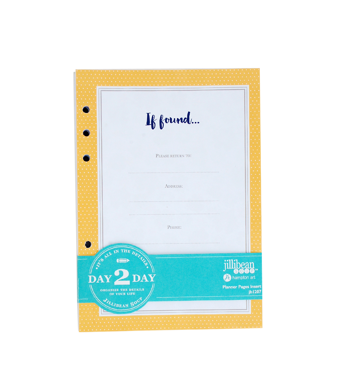 Jillibean Soup\u0027s Day 2 Day 129 Pack Planner Pages Inserts