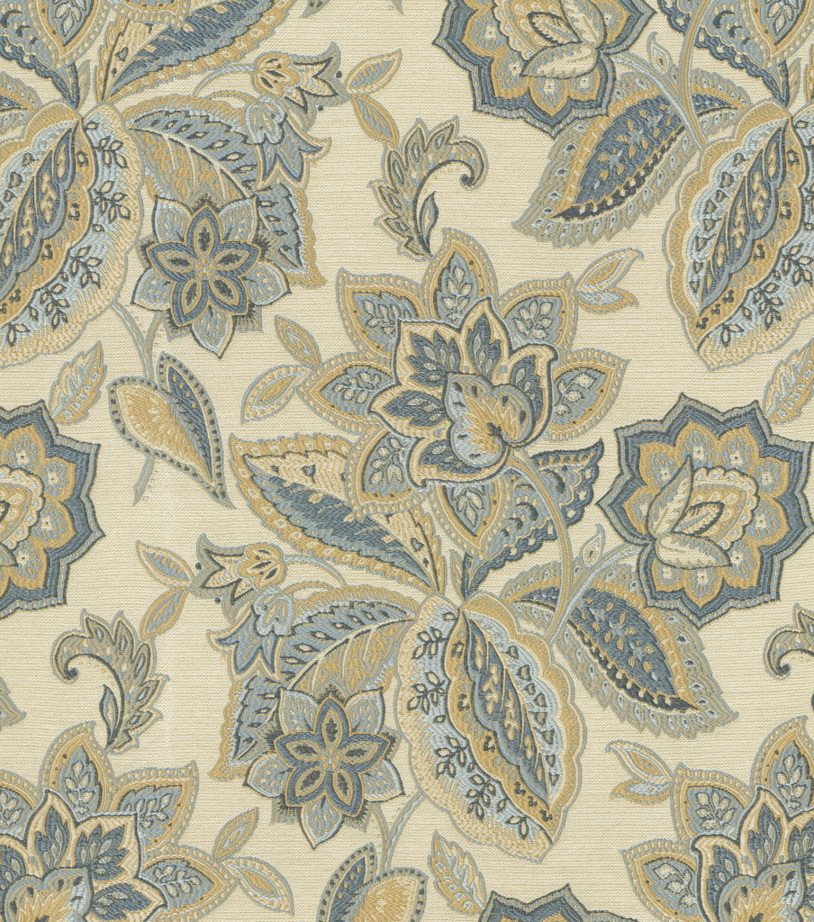 Waverly Multi-Purpose Decor Fabric 55\u0022-Treasure Trove/Sapphire