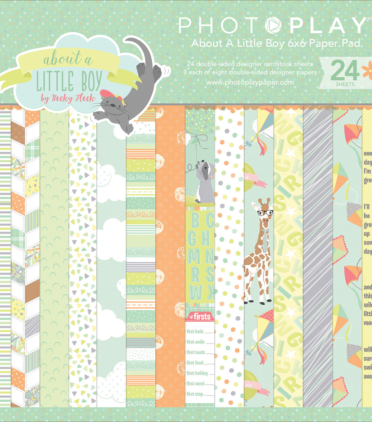 Photo Play Double-Sided Paper Pad 6\u0022X6\u0022-About A Little Boy