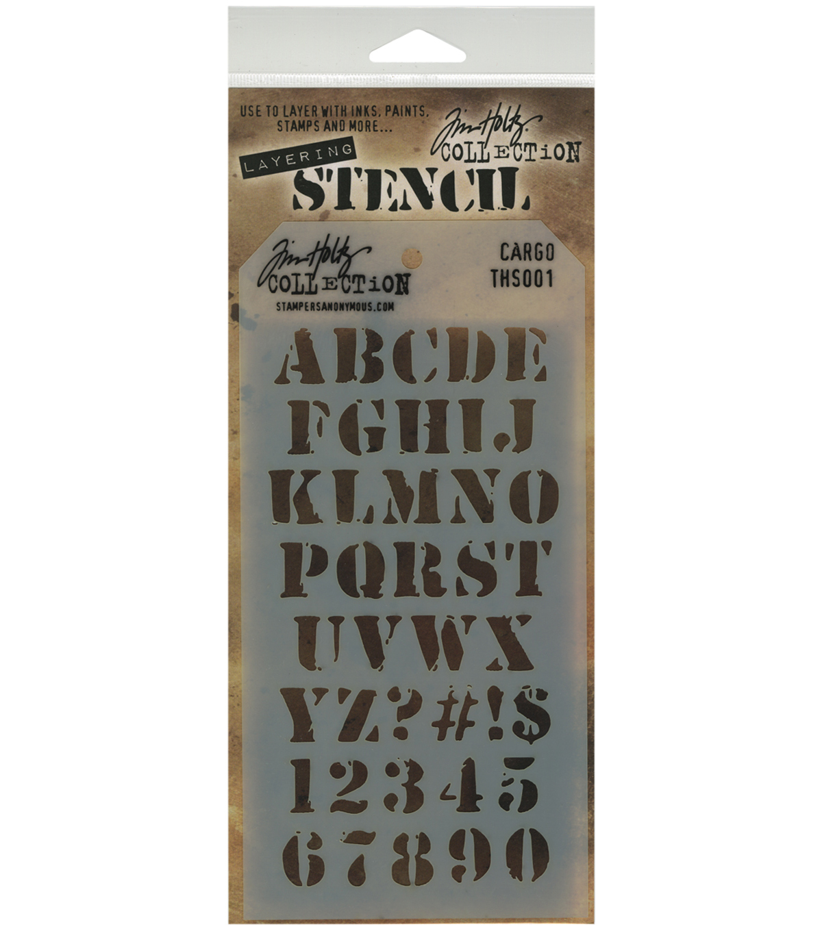 Tim Holtz Clockwork Stencil