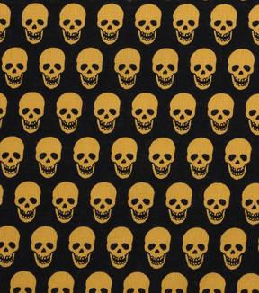 Holiday Showcase™ Halloween Cotton Fabric 43\u0022-Mini Skulls