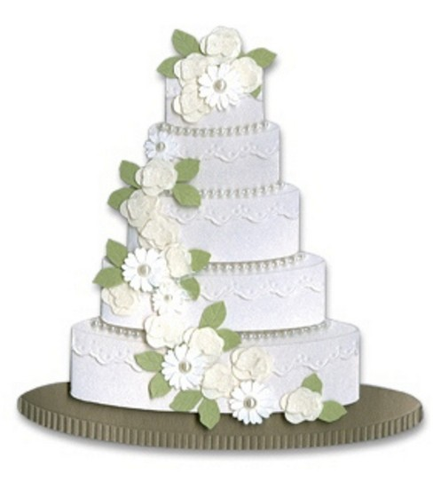 Jolee's By You Stickers-Wedding Cake