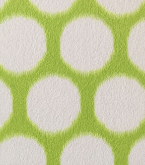 "Anti-Pill Fleece Fabric 59""-Victoria Grn Dots"