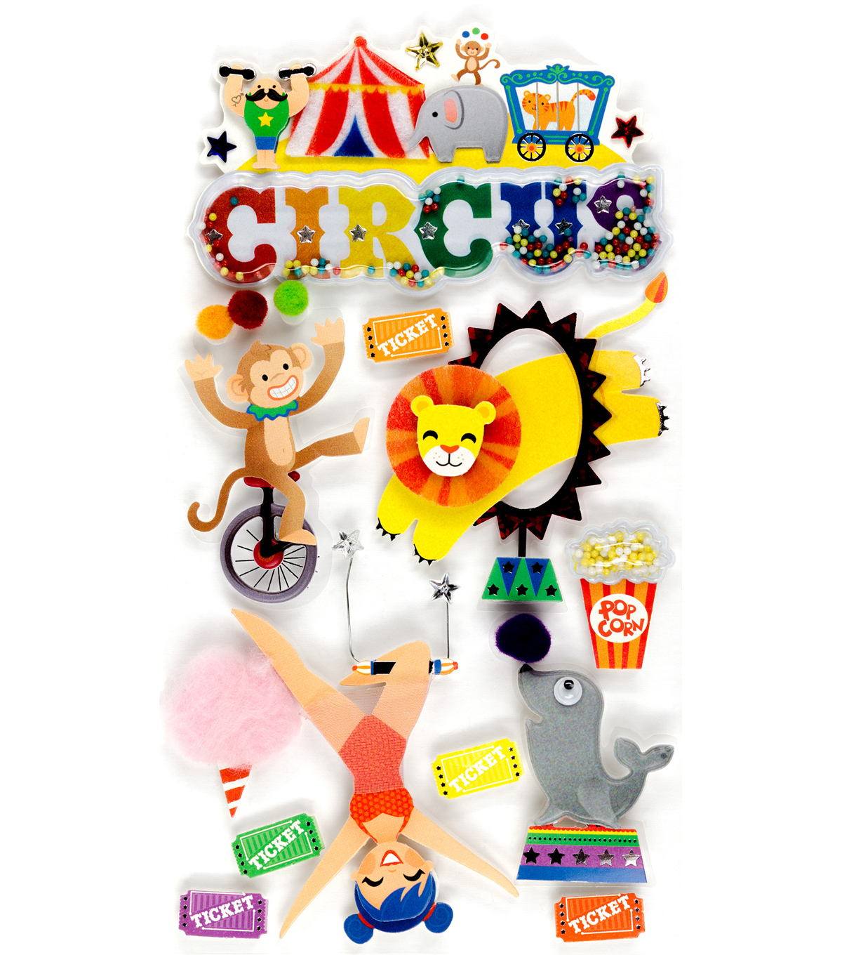Jolee's Boutique® Stickers-Circus