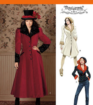 Simplicity Patterns 1732-Misses\u0027 Costume Coat