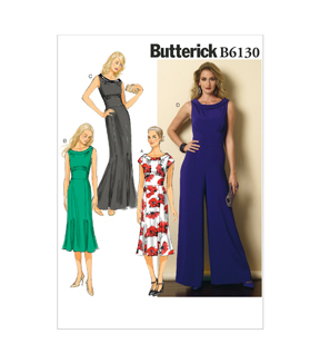Butterick Misses Dress-B6130
