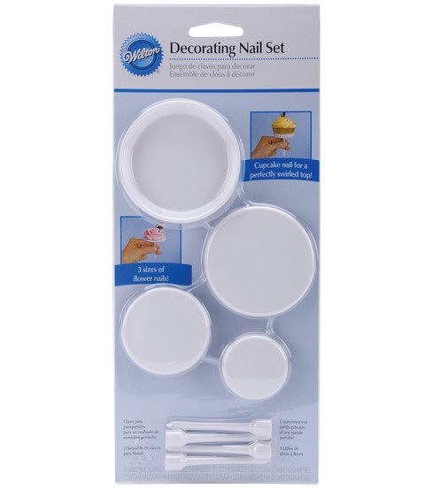 Wilton® Decoraing Nail Set-3PK