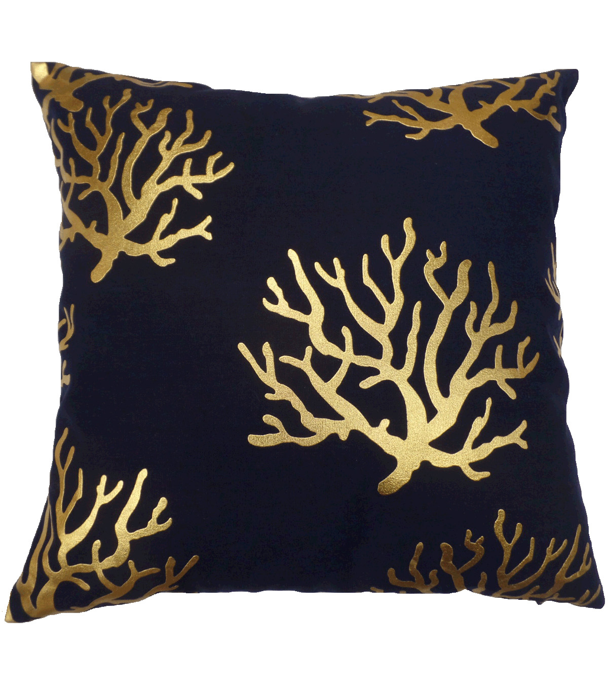 Hudson 43™ Pillow-Metallic Print