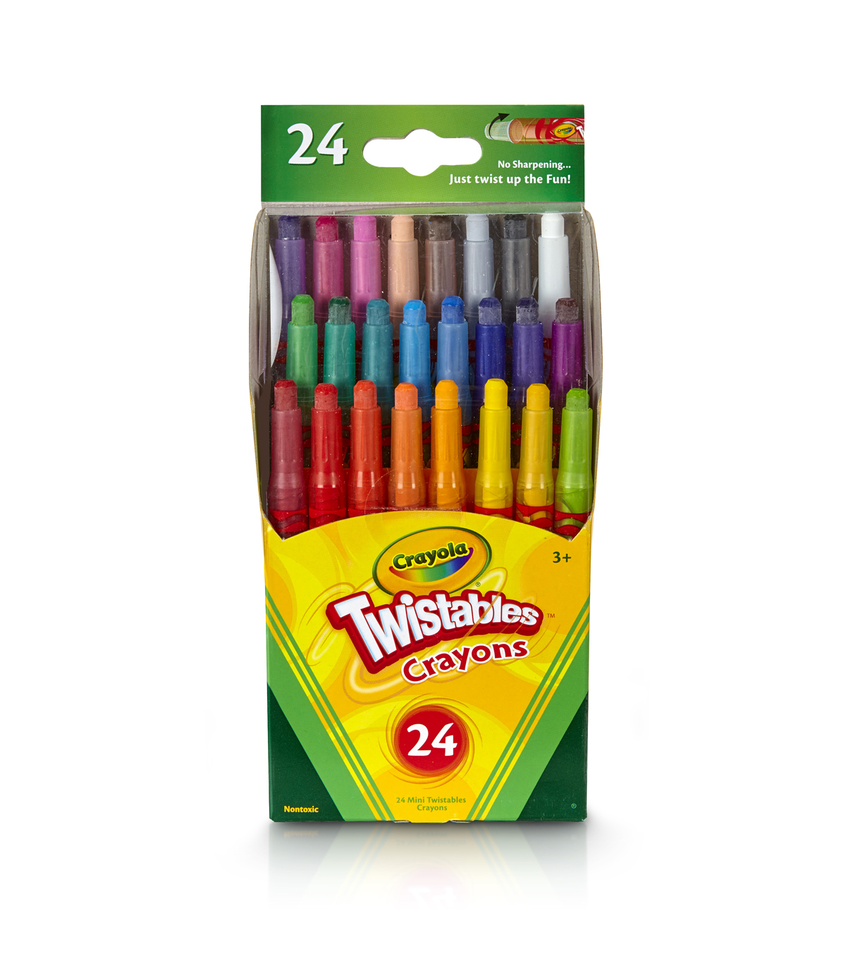 Crayola 24ct Mini Twist
