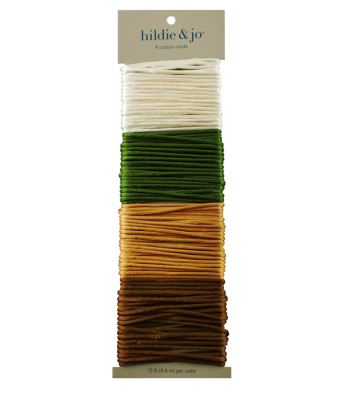 Jewelry Fundamentals Cords & More-Silky Cord Value Pack, Earthtone