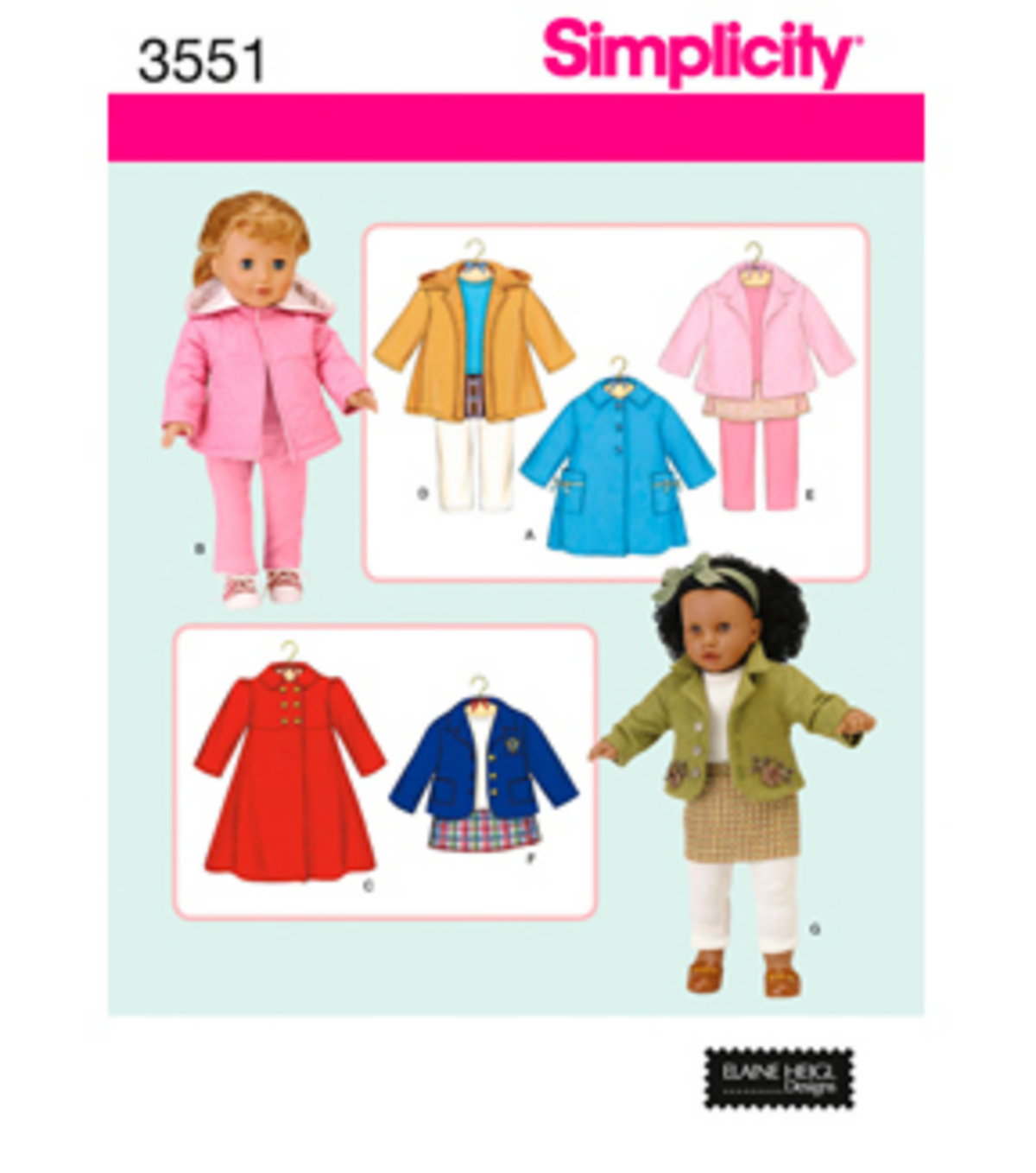 Simplicity Pattern 3551OS One Size -Simplicity Crafts