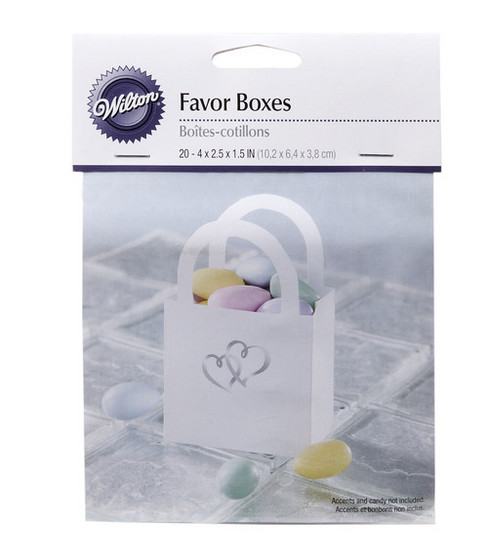 Wilton® 20ct Sweetheart Favor Bag