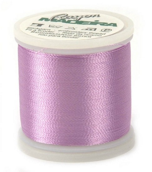 Madeira Rayon Thread Refills Purple/Lavender