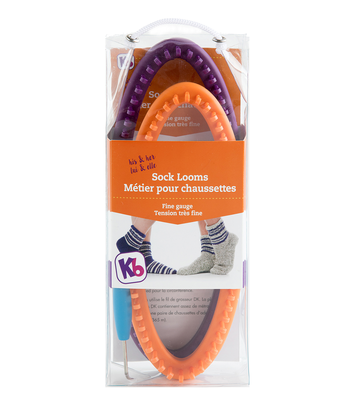 Knitting Board His & Her Sock Looms 2pk