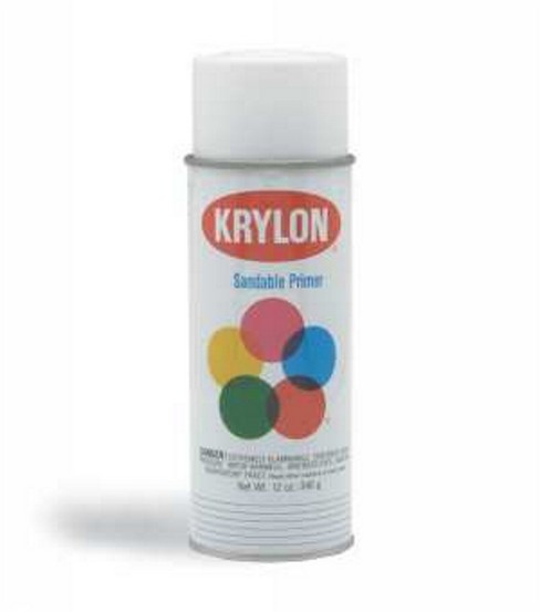 Krylon Spray Sandable Primer 12 oz. White