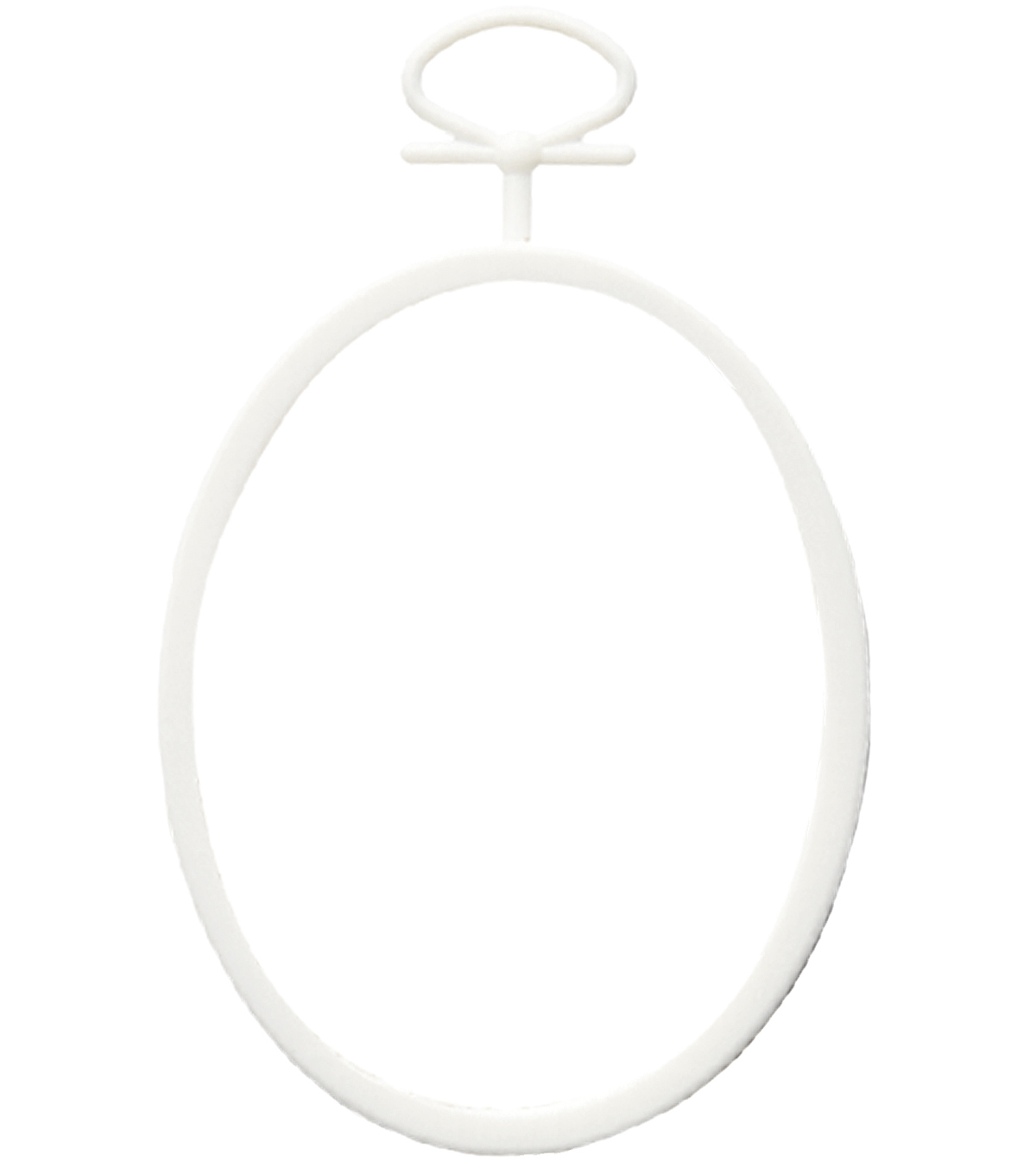 Just-A-Frame Mini Oval 2-1/4\u0022X2-3/4\u0022 2/Pkg-White