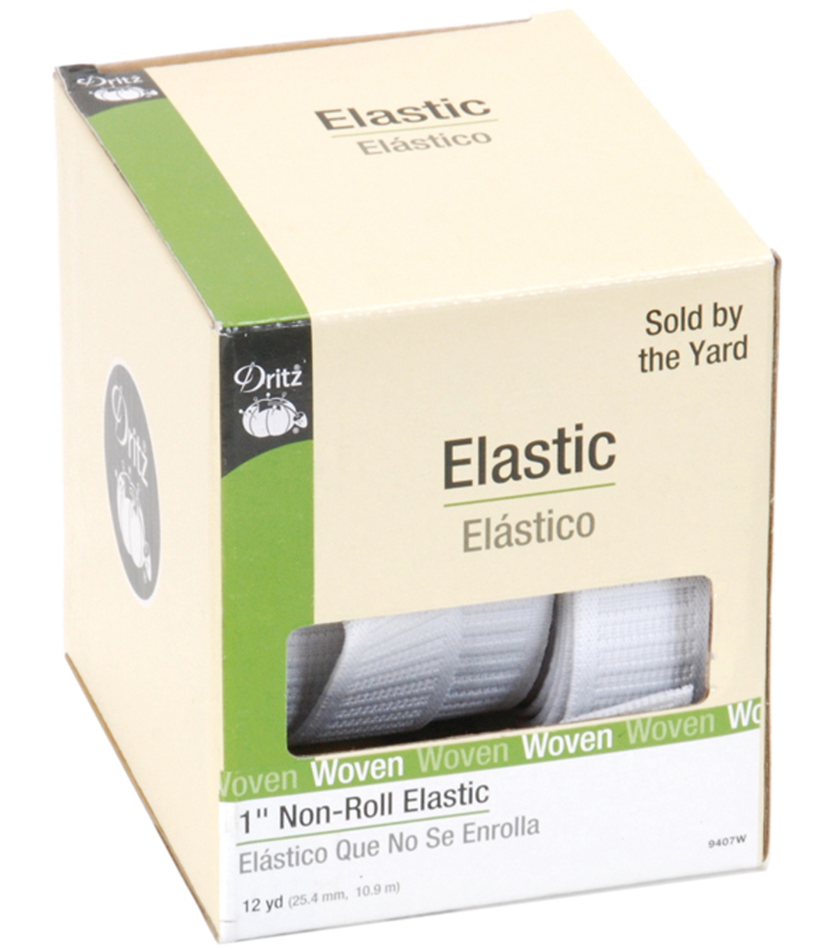 Non Roll Elastic 12 Yds