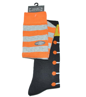 Maker\u0027s Halloween Over the Knee Socks-Witch Stripe Boot