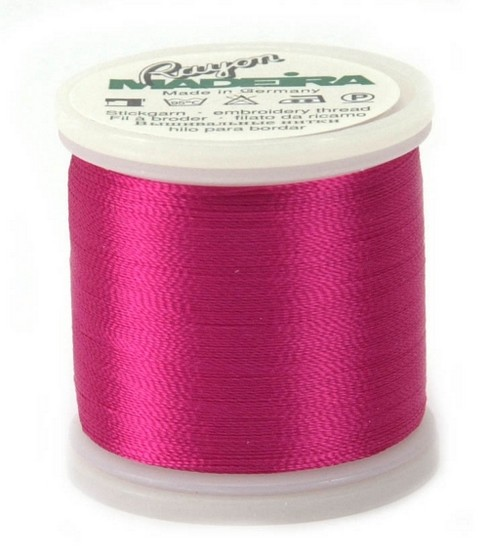 Madeira Rayon Thread Refills Red/Rose/Fuchsia