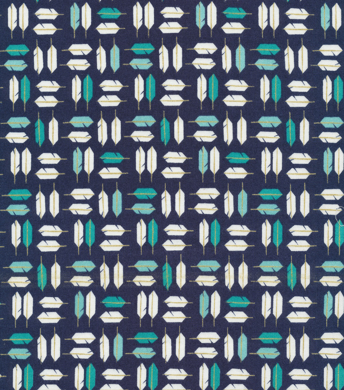 Cloud 9 Premium Cotton Fabric 44\u0022-Feathered Navy