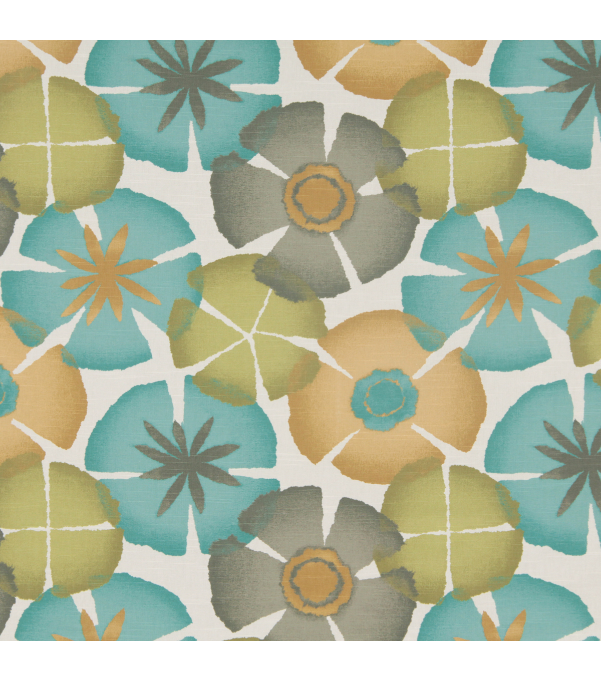 "Home Decor 8""x8"" Fabric Swatch-Pure Petals / Pool"