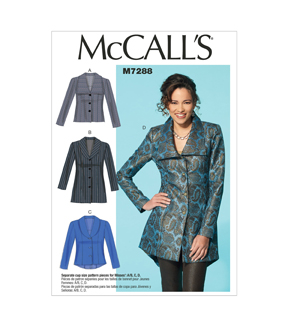 McCall's Misses Jacket-M7288