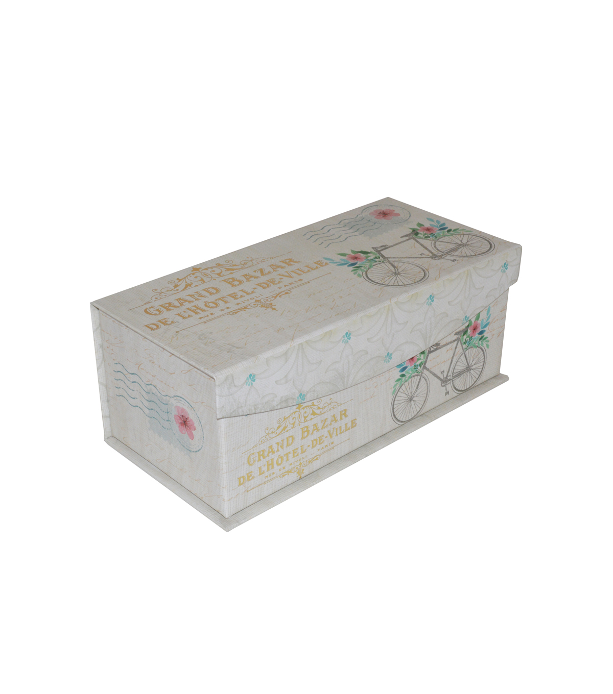 Organizing Essentials™ Medium Flip Top Box-French Floral