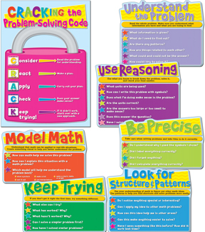 Common Core Math Strategies Bulletin Board Set